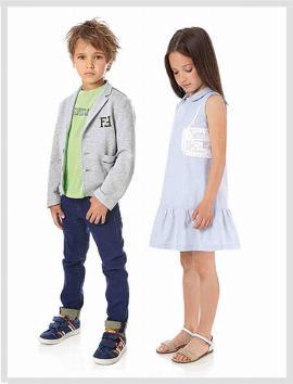 Thời trang trẻ em mẫu 1